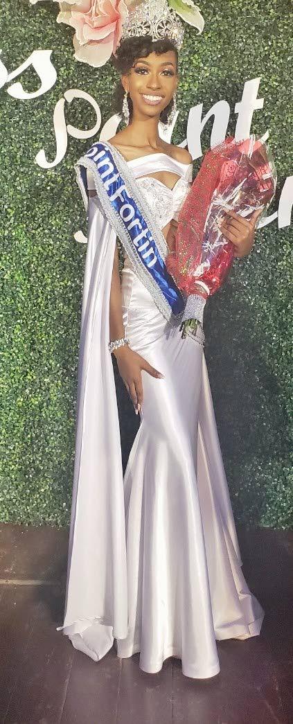 Miss Point Fortin Mya Bartholomew