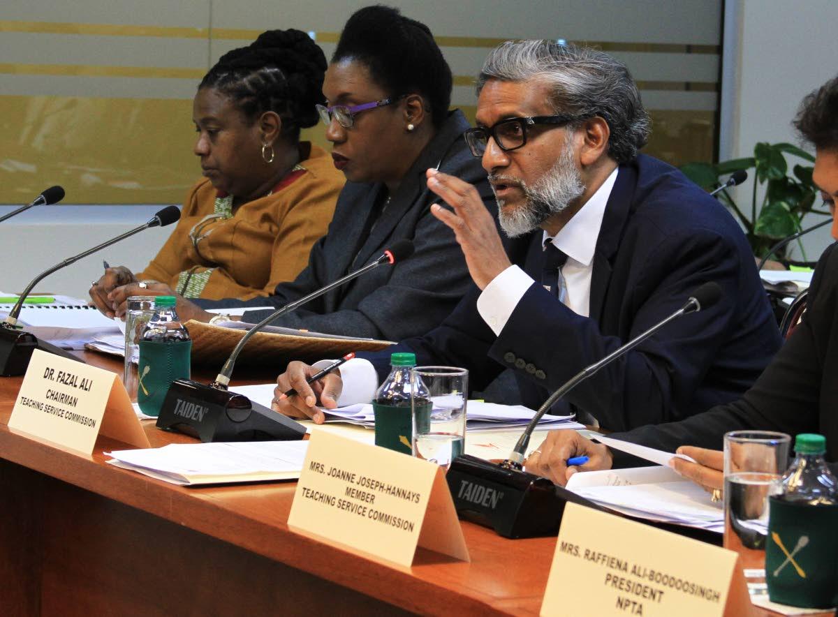 TSC chairman Dr Fazal Ali PHOTO BY AYANNA KINSALE
