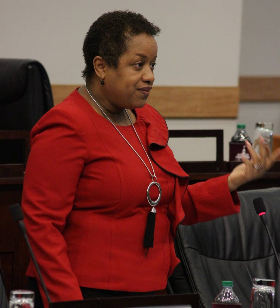Minister in the Finance Ministry Allyson West