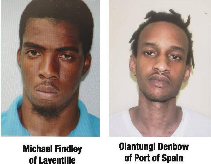 Michael Findley and Olatungi Denbow