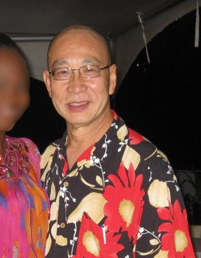 This photo, posted to his Facebook account, shows doctor Vin Sein Chiang, 75, who was shot dead outside his Lover's Lane, Wallerfield home by two bandits.