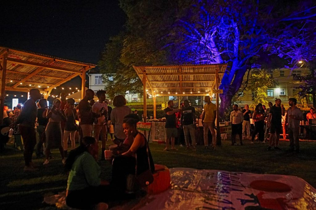 Rootsyardd  Dub and Night Market is on Saturday at Nook Avenue and St Ann's Road.