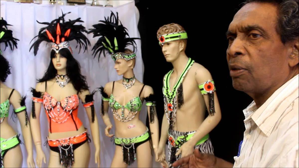 Trini Revellers bandleader David Cameron.