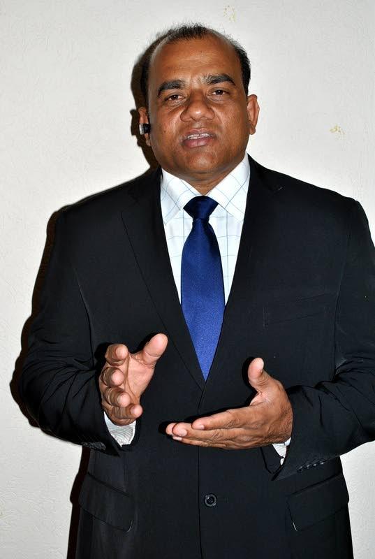President of the TT Automotive Dealers Association, Visham Babwah.