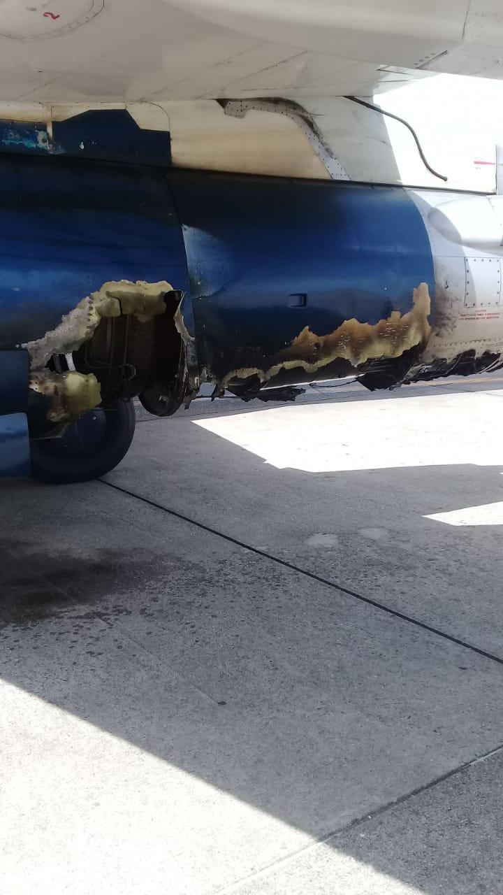 UPDATED] Venezuelan plane makes emergency landing at Piarco