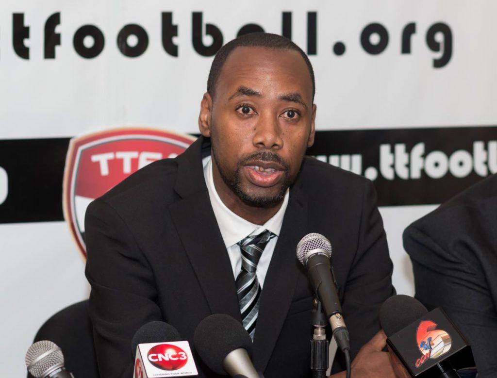 TT head coach Dennis Lawrence.