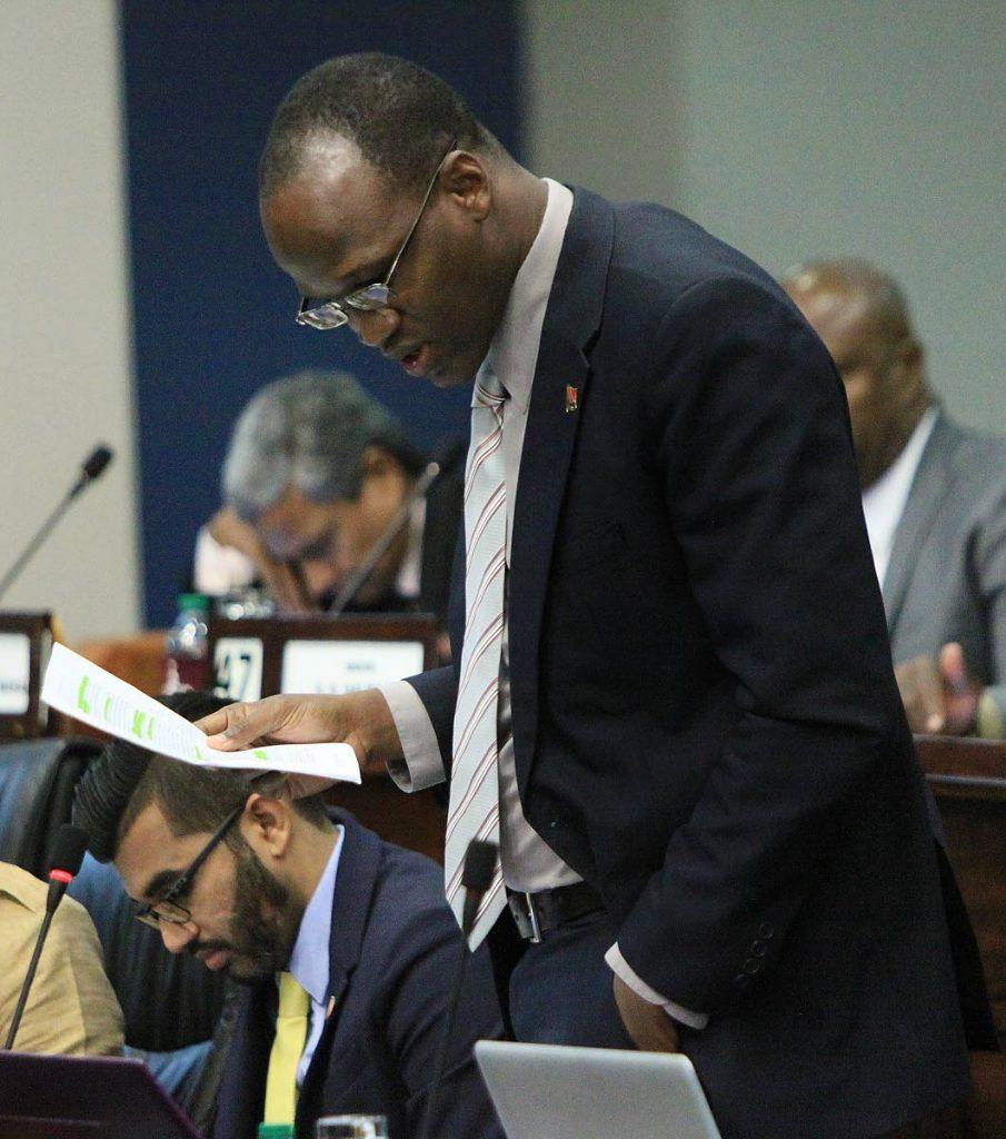 Opposition Senator  Taharqa Obika. FILE PHOTO