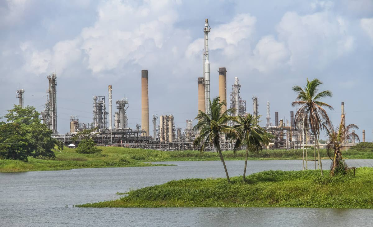 A view of the refinery  in Pointe-a-Pierre once operated by the now defunct Petrotrin oil company. FILE PHOTO