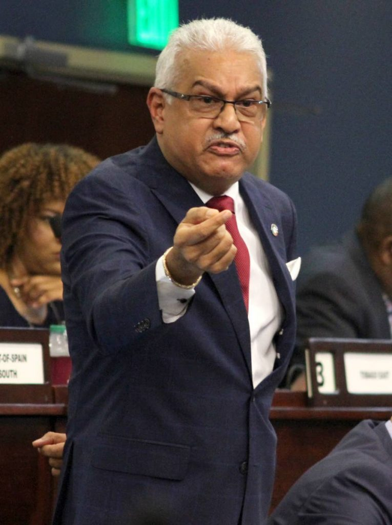 Minister of Health Terrence Deyalsingh