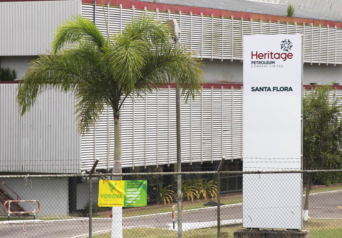 Heritage Petroleum Co Ltd's in Santa Flora. The company, along with Guaracara Refining Co Ltd and Paria Fuel Trading Co Ltd, are guarantors of a US$720 million loan to parent company Trinidad Petroleum Holdings Ltd. FILE PHOTO