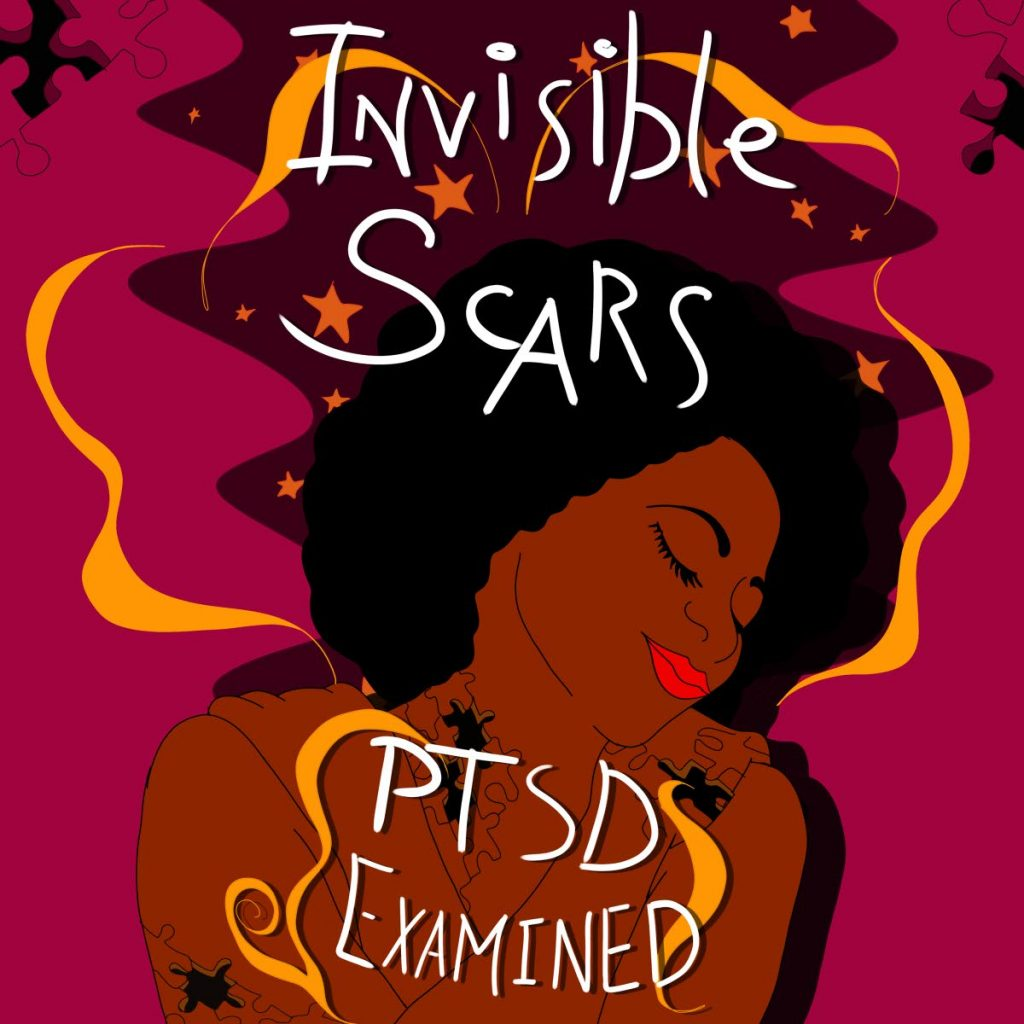 PTSD Campaign artwork designed by Little Big Tone Studio