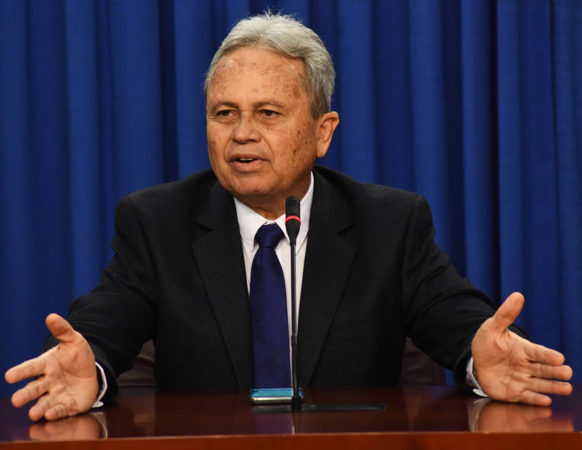 Finance Minister Colm Imbert.