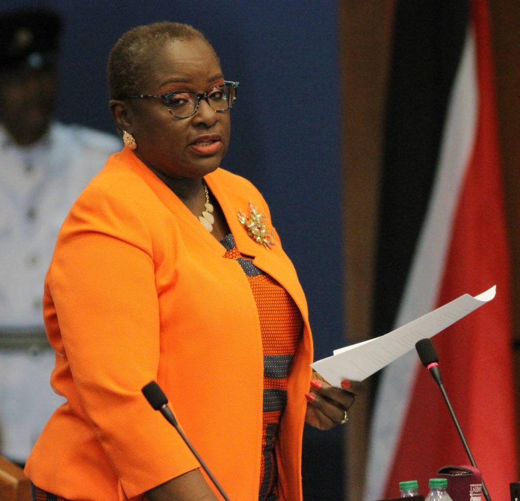 Planning and Development Minister Camille Robinson-Regis