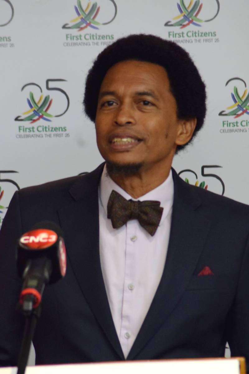 Brian Lewis, President, Trinidad and Tobago Olympic Committee.