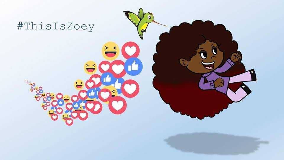 An image from Full Circle Animation Studio planned show Do it Yourself Zoey.