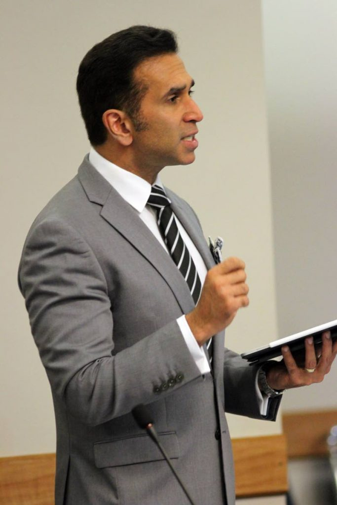 Attorney General Faris Al-Rawi PHOTO BY ANGELO M MARCELLE