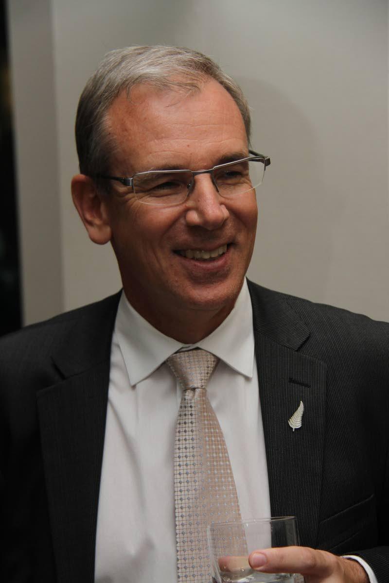 New Zealand High Commissioner to TT Anton Ojala.