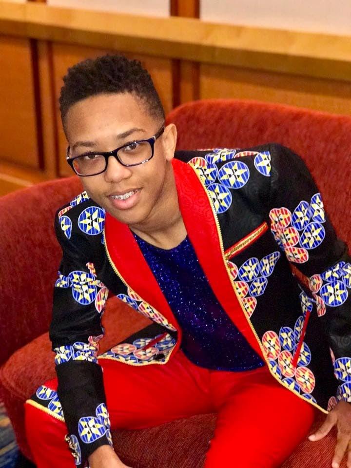 Four-time junior calypso monarch Aaron Duncan.