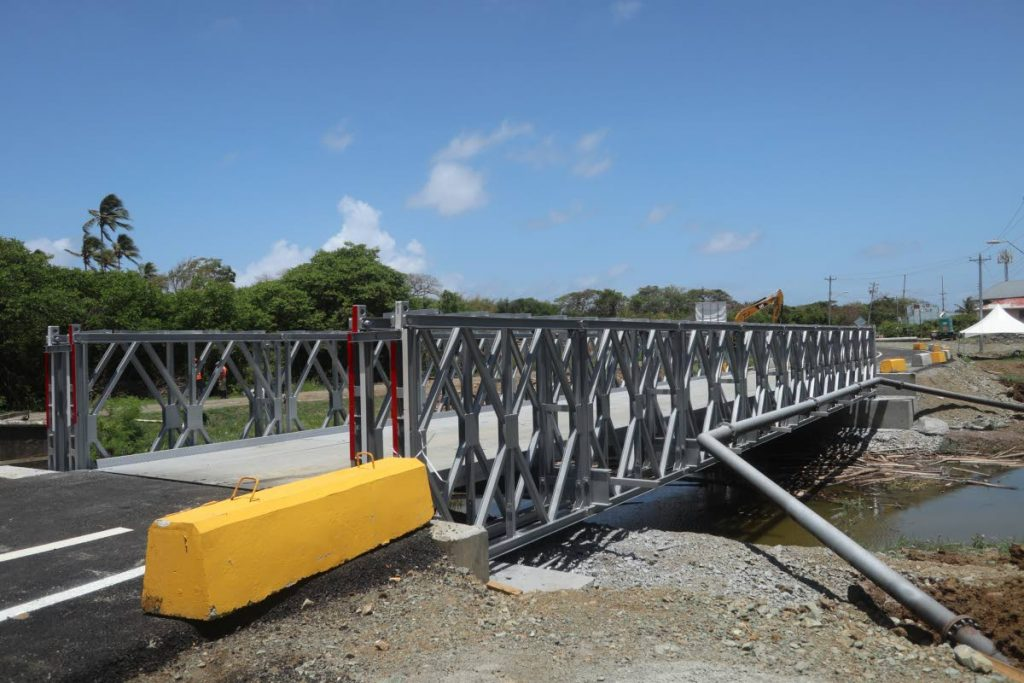The bridge at Thompson river is now open.