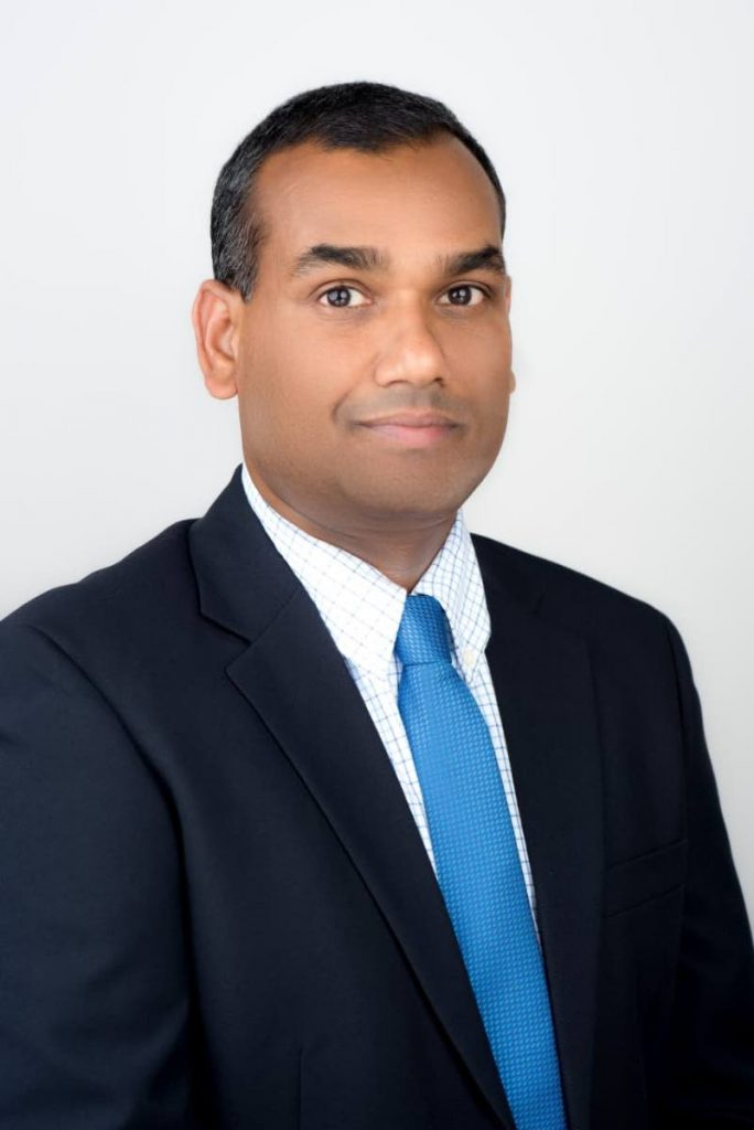 Glenn Mahabirsingh, president of the Contractors Association.