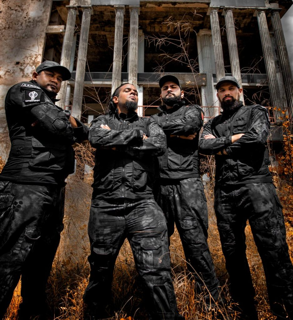Members of local heavy metal band, LYNCHPiN, will be spreading their Caribbean Brutality to Cuba in August.