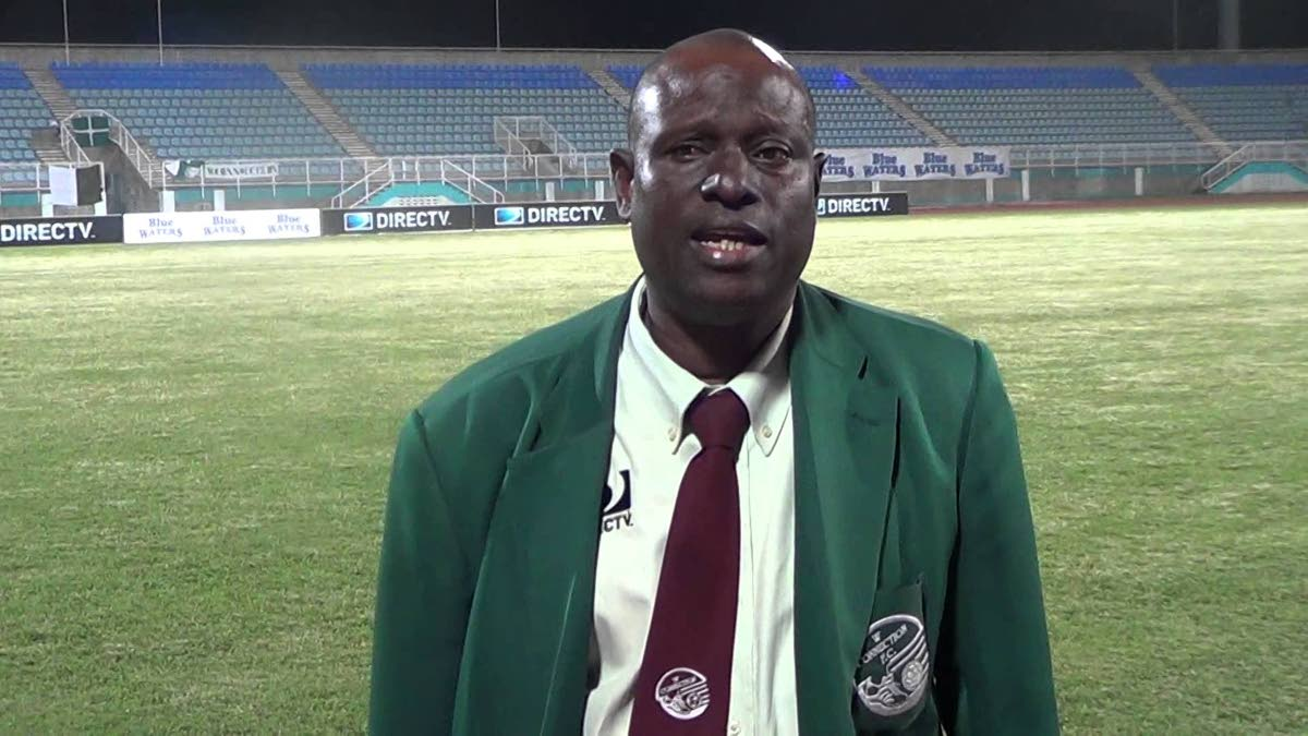 TT Under-15 boys head coach Stuart Charles-Fevrier.
