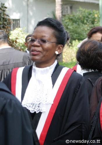 Justice Joan Charles.