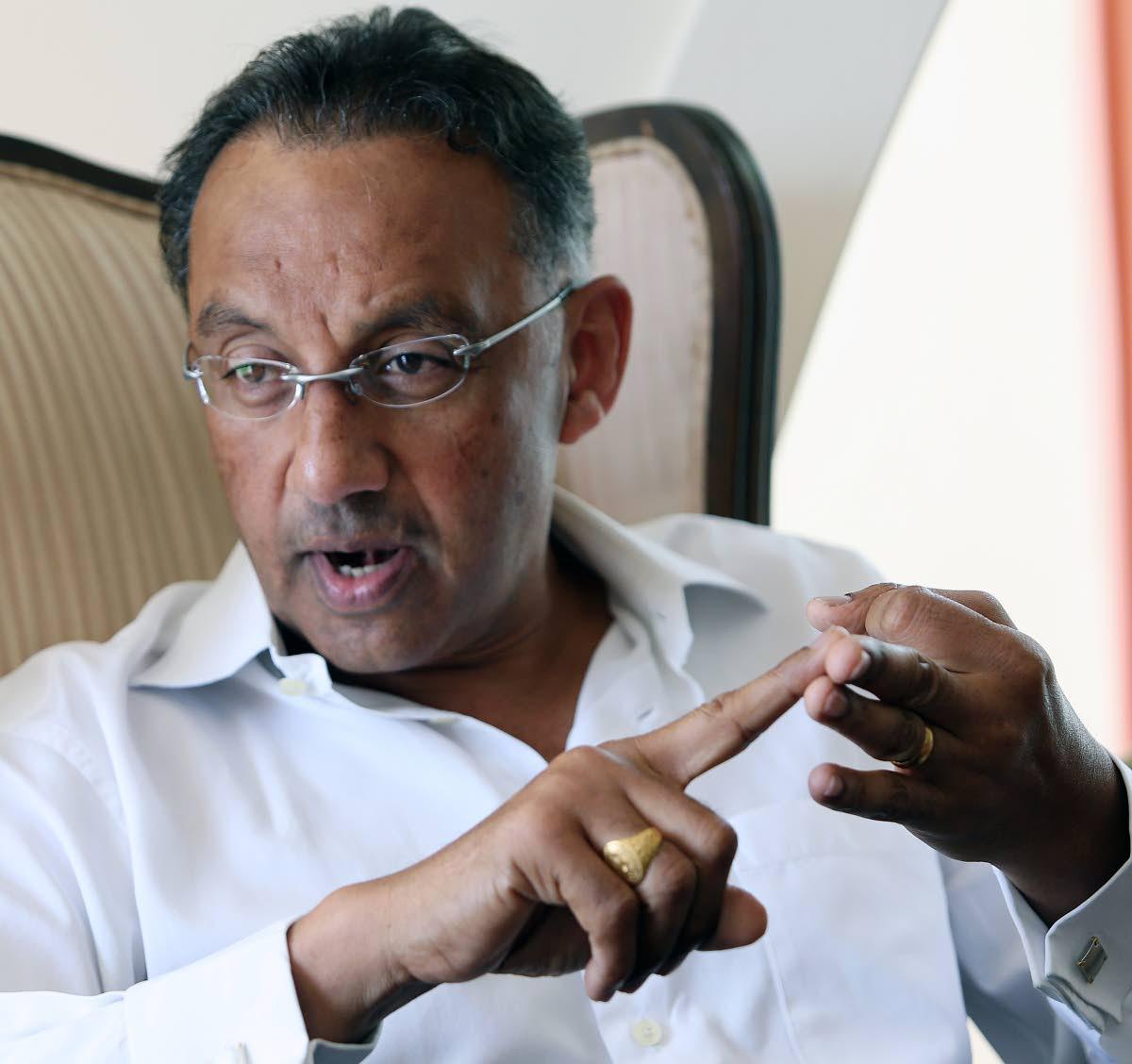 Former government minister Vasant Bharath.