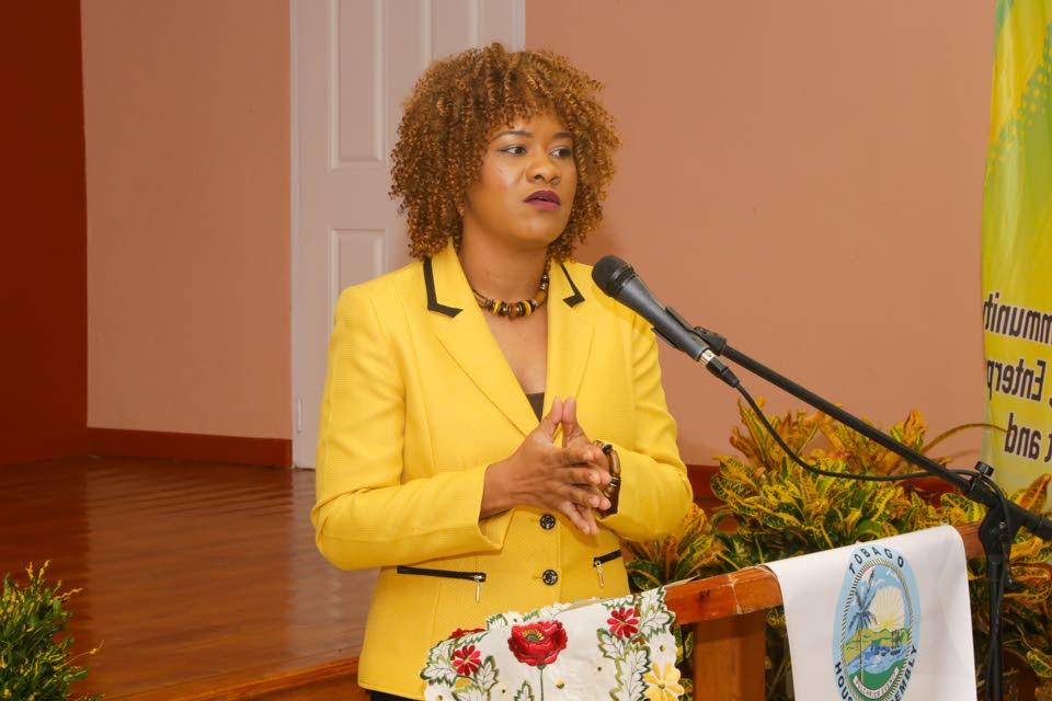 Ayanna Webster-Roy, MP for Tobago East.
