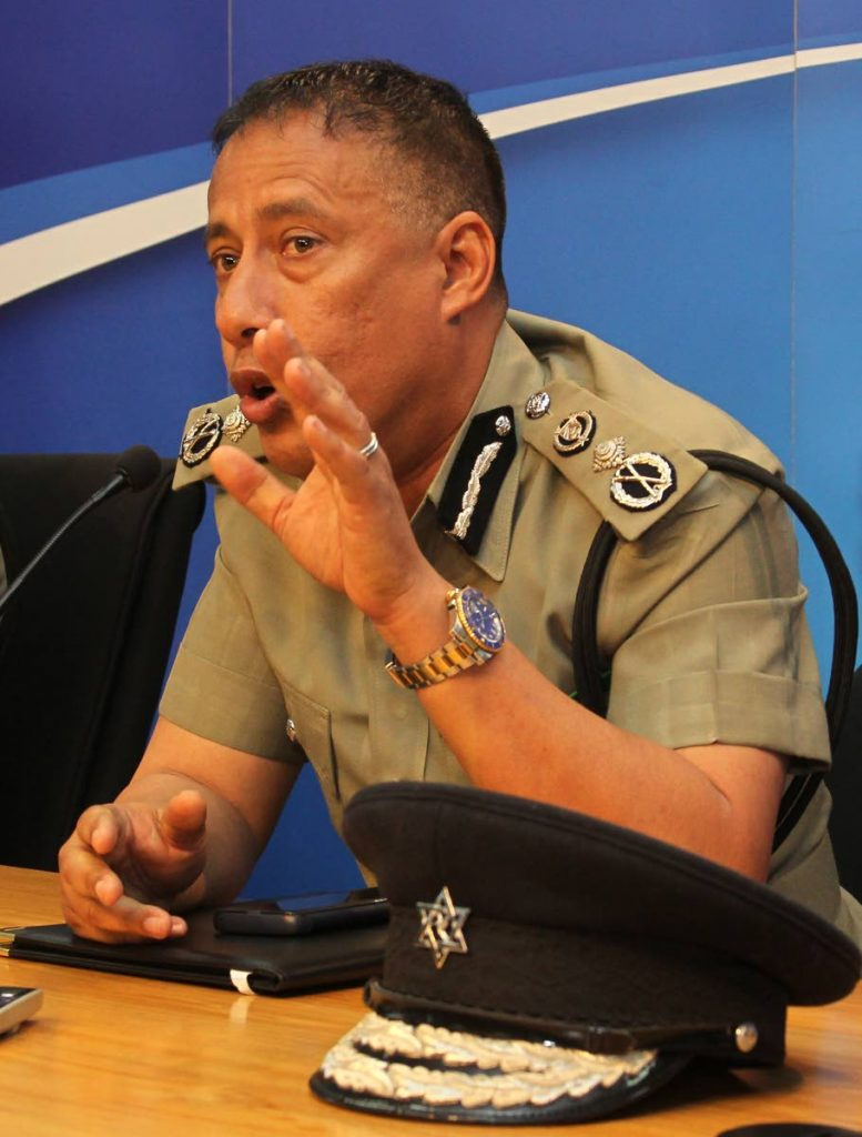 LET'S TALK: Commissioner of Police Gary Griffith is calling for a meeting with the Media Association (MATT). FILE PHOTO