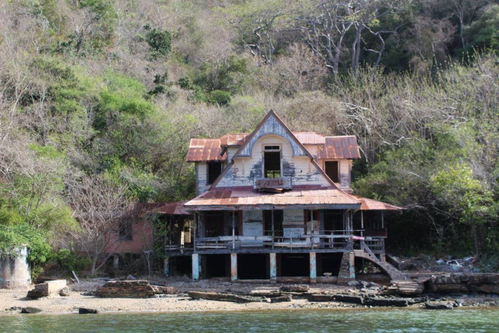The abandoned Doctor's House, Chacachacare off the north-western tip of Trinidad. Photo by Carla Bridglal