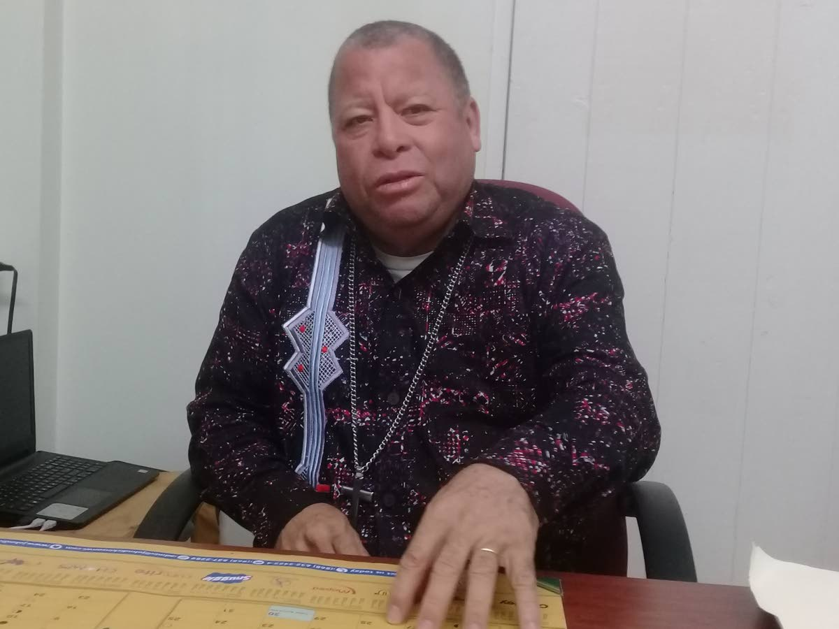 Anglican priest Fr Jesus Latan wants the THA to start a programme to help Venezuelan migrants and Tobagonians understand each other's culture. PHOTO BY COREY CONNELLY
