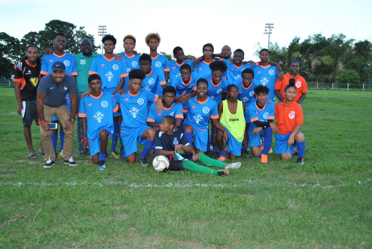 Oropune Police Youth Club got past Pinto Youth Club 6-4, in their Commissioner's Cup tournament match, on Sunday, at Squadron Grounds,Trincity.