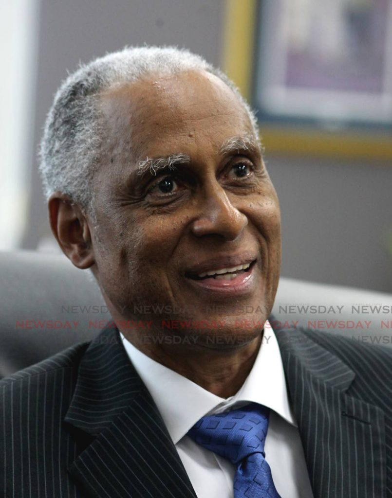 CCJ president Adrian Saunders   PHOTO BY ROGER JACOB