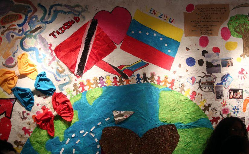 Art stories of migrant children