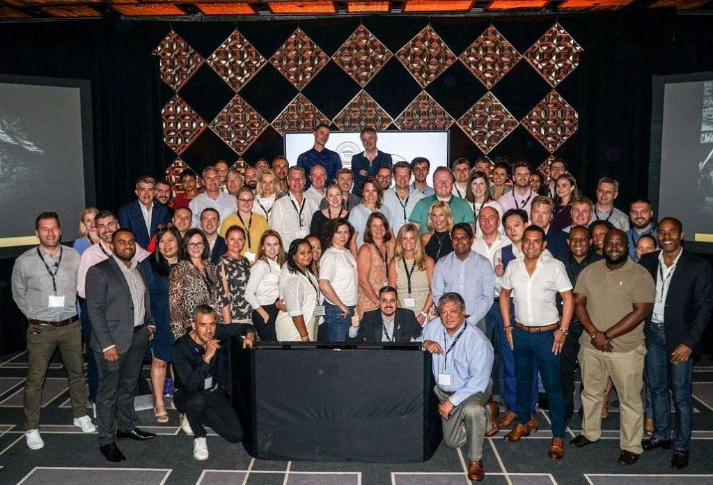 Distributors and company representatives at Angostura's Global Distributors Forum held in Miami, USA. Photo courtesy Angostura