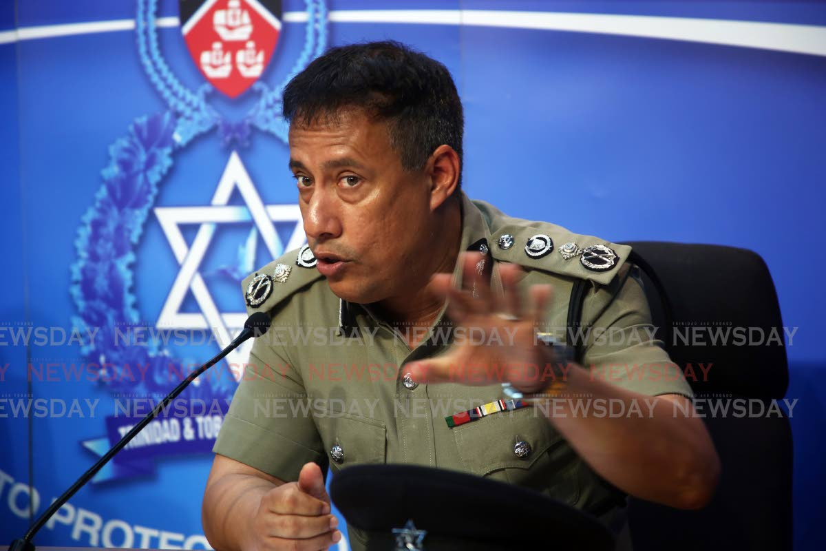 File Photo: Police Commissioner Gary Griffith  Photo by Sureash Cholai
