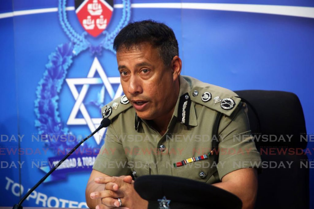 Police Commissioner Gary Griffith  PHOTO SUREASH CHOLAI