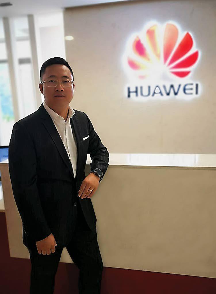 New CEO of Huawei Technologies TT Jeff Jin.PHOTO COURTESY OF HUAWEI