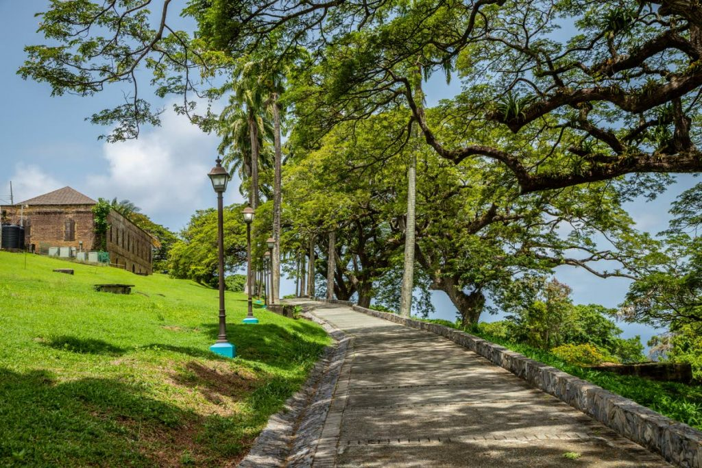 A clear afternoon at Fort King George, Scarborough. The EMA has one air quality monitoring station in Tobago at Signal Hall Secondary School. PHOTO BY JEFF K MAYERS