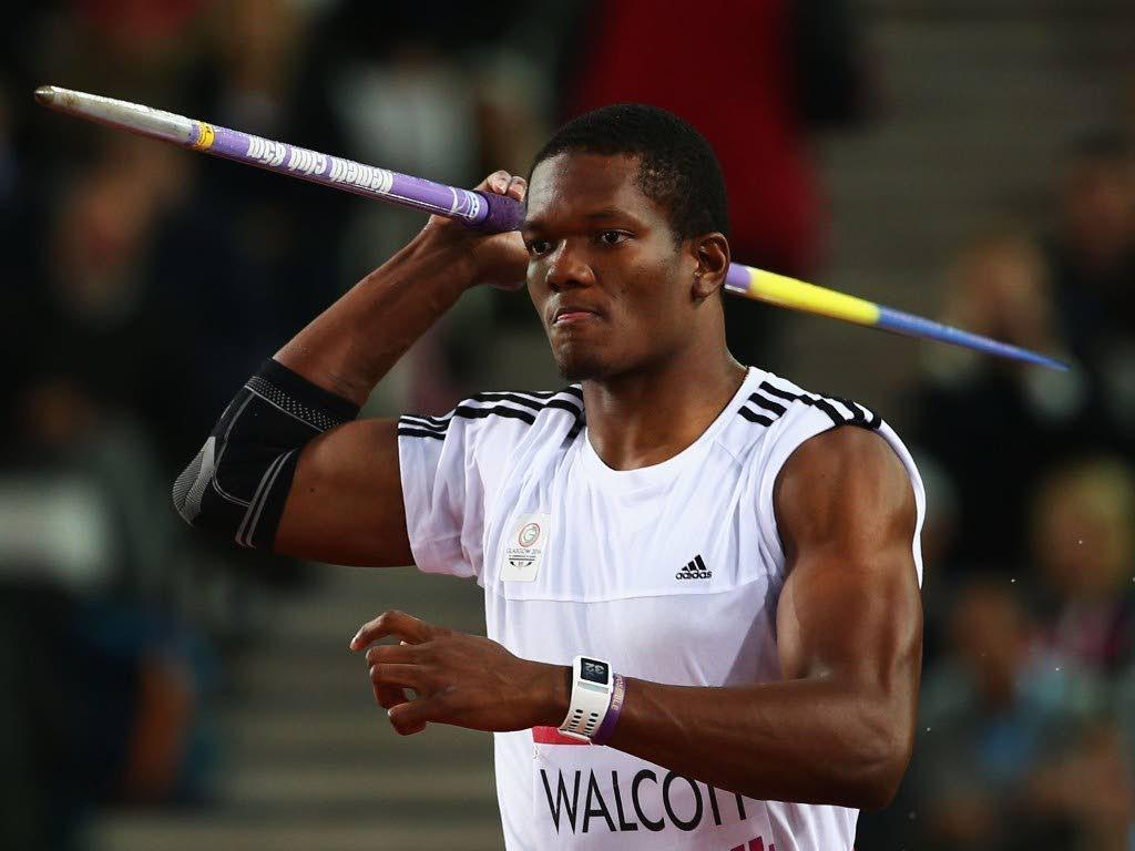 2016 Olympic Games bronze medallist Keshorn Walcott.