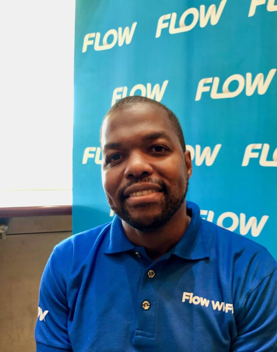 Kurleigh Prescod, new country manager of Flow Trinidad.