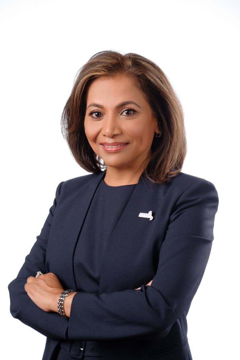 Patricia Ghany, president of the American Chamber of Commerce TT.