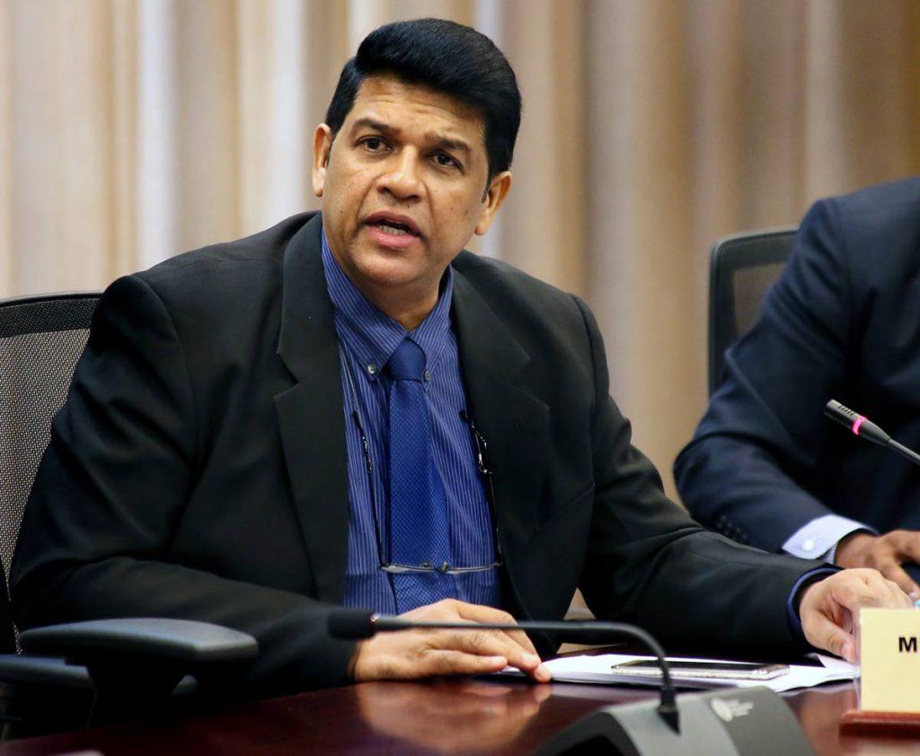 St Augustine MP Prakash Ramadhar