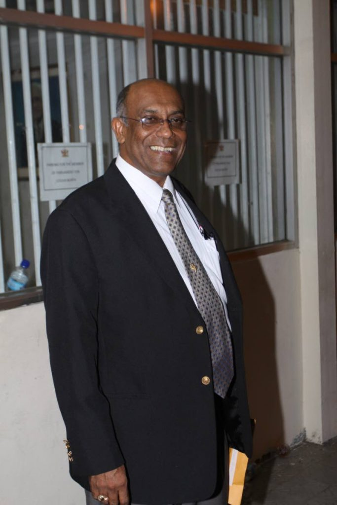 Dr Surujrattan Rambachan has been a politician for 40 years, serving under the ONR and UNC parties.