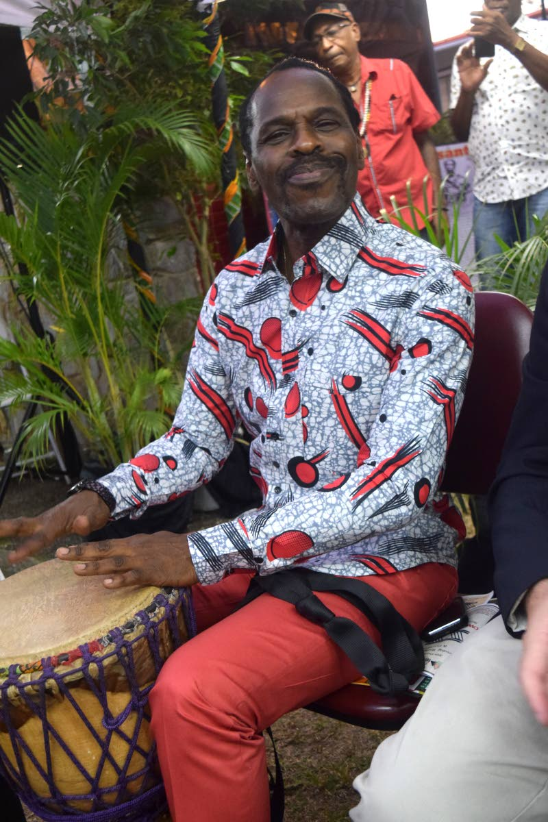 Laventille West MP Fitzgerald Hinds at an emancipation event in Maraval. FILE PHOTO