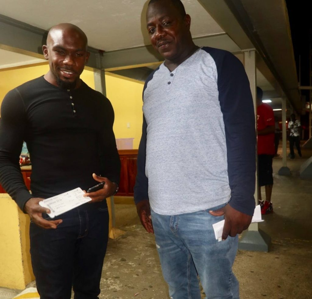 THA engineers Kofi Daniel, left, and Alons Gray.