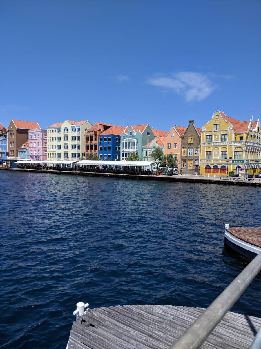 Colourful buildings in Willemstad on the Punda side of St Anna's Bay. PHOTOS BY JANELLE DE SOUZA