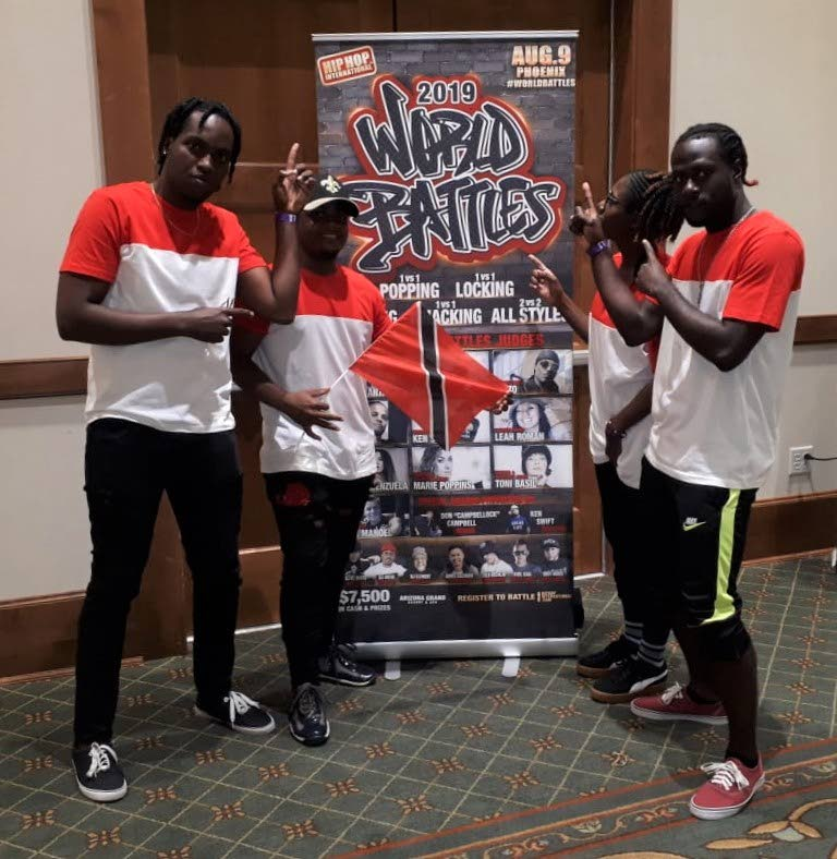 M-PROS dancers in Phoenix earlier this week for the World Hip Hop Championships.