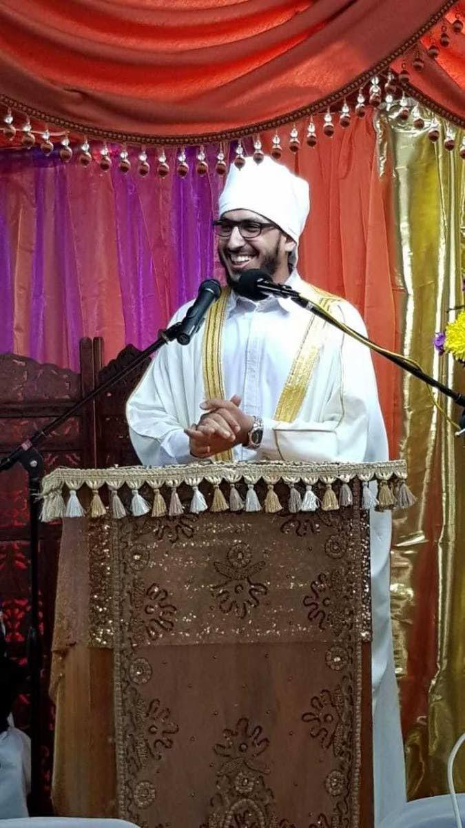 Imam Atiff Majeed of San Fernando ASJA mosque